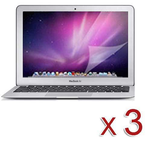 pack of 3 clear screen protector for apple® MacBook air®  13