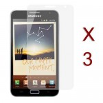 pack of 3 clear screen protector for SAMSUNG Galaxy© note