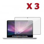3 X Anti glare screen protector for MacBook Pro® 15