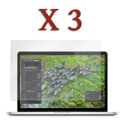 3 X Anti glare screen protector for MacBook Pro® 15 Retina