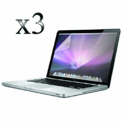 Pack of 3 Screen Protector for Macbook Pro® 13 A1278 A1425 Clear