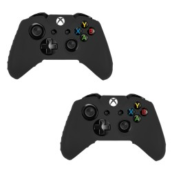 Pack Of 2 Soft Skin Case for Xbox® one Game Controller Black