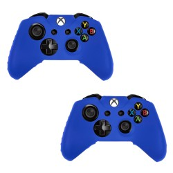 Pack Of 2 Soft Skin Case for Xbox® one Game Controller Blue