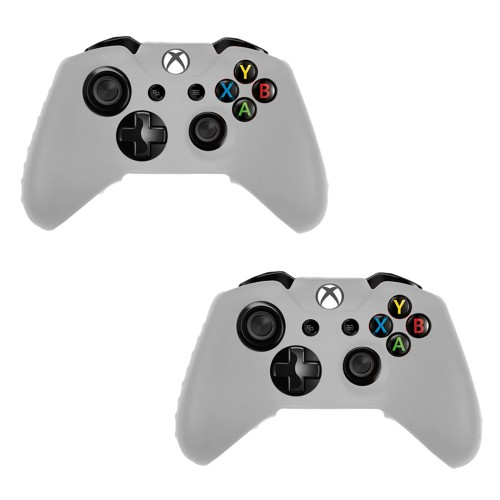 Pack Of 2 Soft Skin Case for Xbox® one Game Controller Clear