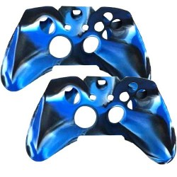 2 in 1 Pack Silicone Case for Xbox® One Wireless Controller Blue
