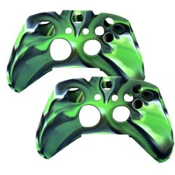 2 in 1 Pack Silicone Case for Xbox® One Wireless Controller Green