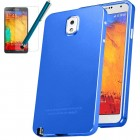 Luxury Thin Metal Case Screen Guard Stylus For Galaxy Note™ 3 Blue
