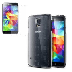 Transparent Crystal Hard Back Case for Samsung Galaxy S®5 Clear