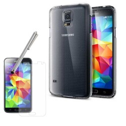 Transparent Clear Crystal Hard Back Case for Samsung Galaxy S®5