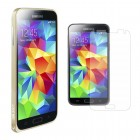 Ultra Slim Metal Aluminum Bumper Case Screen Protector for Galaxy S©5 Light Gold