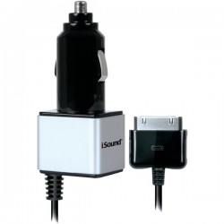 ISOUND ISOUND-2147 iPad® iPhone® iPod® Car Charger Pro