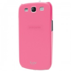 ILUV iSS260PNK Samsung® Galaxy S® 3 Overlay Shell - Pink