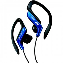 JVC HAEB75A Ear-Clip Headphones Blue
