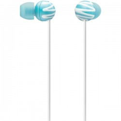 SONY MDREX25LPBLU Fashion In Ear Earbuds Blue