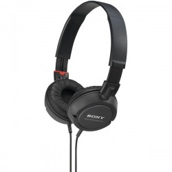 SONY MDRZX100BLK Fashion Over The Head Sports Headphones Black