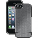agf silver gray holster case cover for apple® iphone® 5