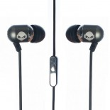 subjekt rave 3.5mm earphones with mic - black