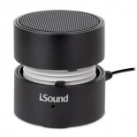 i.sound fire portable speaker - black