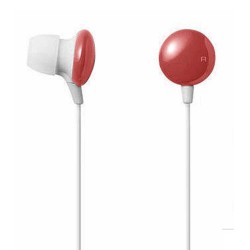 Candy Chocolate Earphone 3.5mm Red