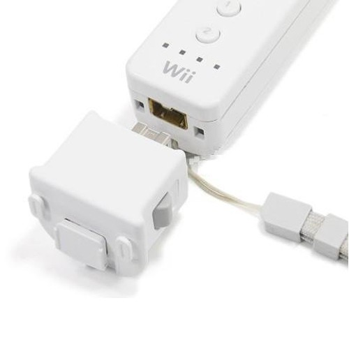 white motion plus adapter for Nintendo® Wii®