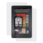 clear front back screen protector for amazon kindle fire