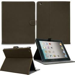 Luxury Leather Smart Case for Apple ipad mini Coffee