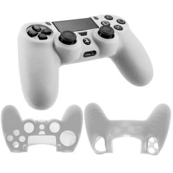 Soft silicone gel case for Sony® PS4™  Playstation Gaming controller clear