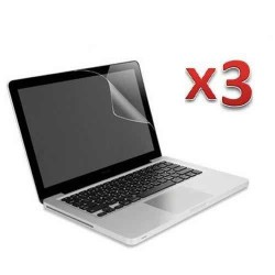 3 X Anti glare screen protector for MacBook Pro® 13