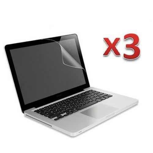 3 X Anti glare screen protector for MacBook Pro® 13