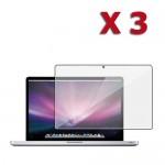 3 X Anti glare screen protector for MacBook Pro® 15